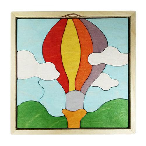 wooden balloon puzzle version